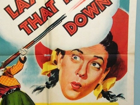 1950s movie poster by ohiopicker on Etsy | Antiques & Vintage Collectibles | Scoop.it