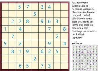 ¿Pero qué es el sudoku?   Temas de Interes   Scoop.it