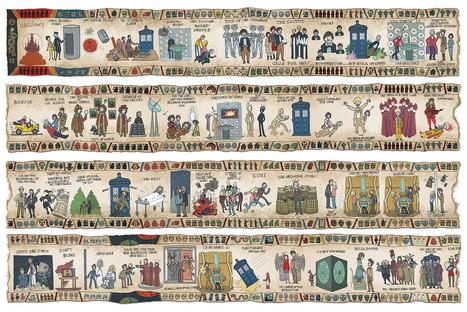 La historia del Doctor Who en un tapiz - Cultture   In the name of the Doctor   Scoop.it