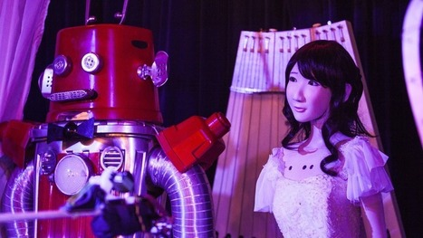 Meanwhile, robots are getting married in Japan | Post-Sapiens, les êtres technologiques | Scoop.it