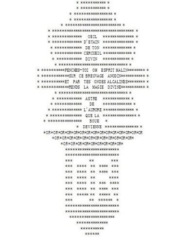 «La plissure du texte», 1983A collective story telling project...   ASCII Art   Scoop.it