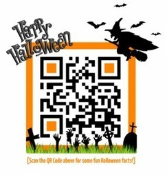 QR Codes Make a Big Appearance this Halloween « Barcoding Blog | Education | Scoop.it
