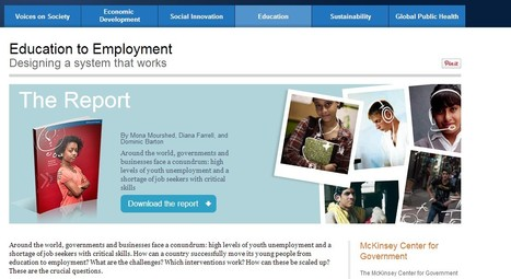 Education to Employment Report | searchingforclues | Scoop.it
