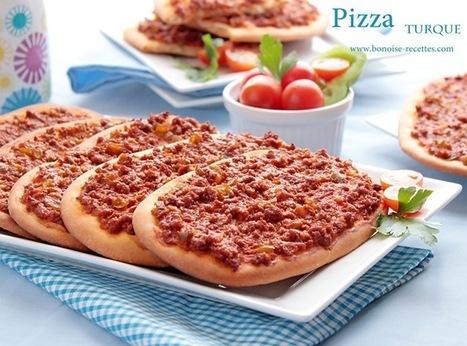 Pizza turque   cuisine algerienne et recettes de ramadan   Scoop.it