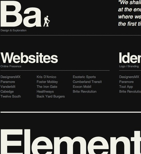 Typography Is The Foundation Of Web Design | Smashing Magazine | UX Design | Scoop.it