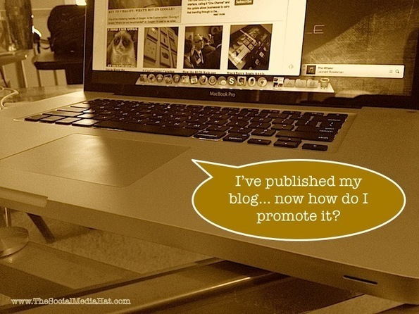 How I promote my new blog posts