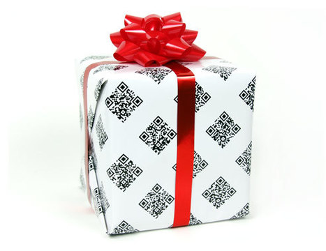 QRapping Paper™, the QR code wrapping paper | Geek.it | Scoop.it