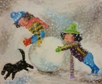 Marc Heaton #Painting #Artork #Children | No. | Scoop.it