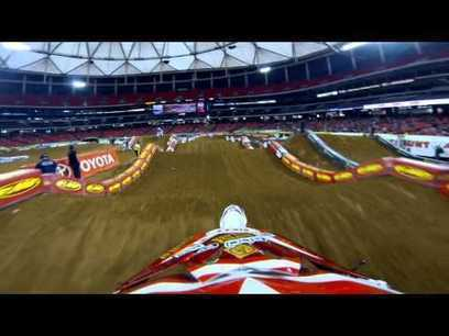 Dirty South: Atlanta SX 2013 GoPro Practice Footage   News, Videos ...   Motocross and dirtbike   Scoop.it