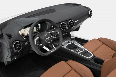 This is the 2015 Audi TT's Futuristic Cabin | Awesome designs | Scoop.it