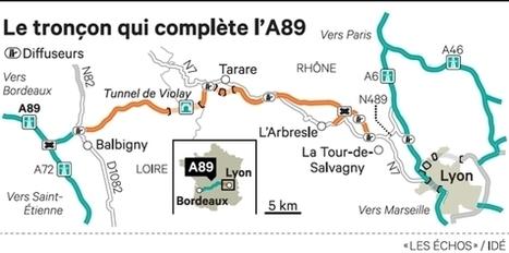 Bordeaux, Lyon et Genève enfin reliés par une autoroute transversale | L'innovation dans le déplacement des personnes et des marchandises | Scoop.it