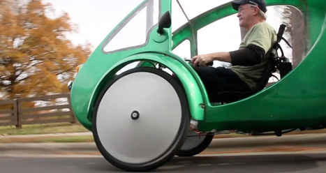 ELF velomobile - a solar and pedal powered electric hybrid vehicle | VIM | Scoop.it