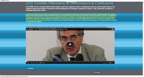CDD Comitato Difendiamo la Democrazia e la Costituzione: IL CASO FERRARO I SILENZI COLPEVOLI O CRIMINALI E UN APPARATO SOTTERRANEO CENTRALE POSTO ALLO SCOPERTO. (con didascalia ed analisi delle vic... | CDD VIDEO CONFERENZE INTERVISTE AUDIO E PROVE GRANDEDISCOVERY 1,  2 e 3 | Scoop.it