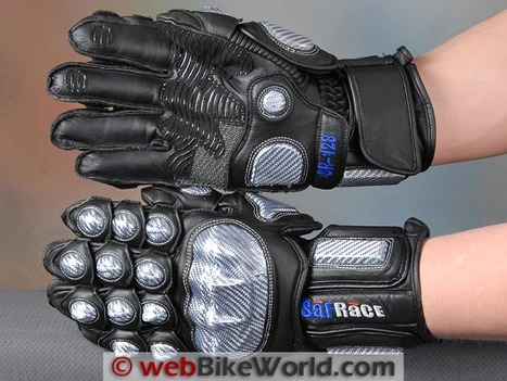 Safrace Motorcycle Gloves Review | webBikeWorld | Ductalk Ducati News | Scoop.it