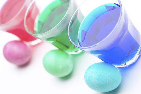 Coloring Easter Eggs Dye | tips | Scoop.it