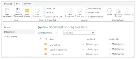 SharePoint 2013 Document Management Features | Office 365 Services | Scoop.it