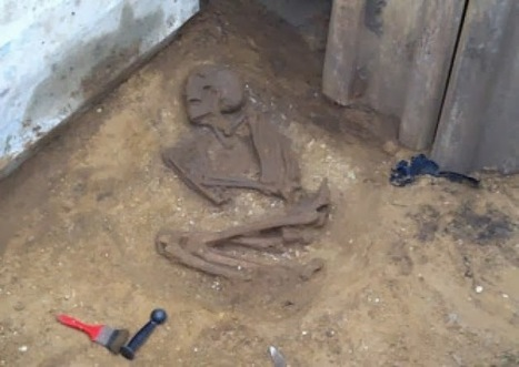 GB (Néolithique ?) : Ancient skeleton found in Yorkshire sewer trench | World Neolithic | Scoop.it