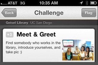 Gamifying library orientation at the University of California, San Diego | Library Chatter | Scoop.it