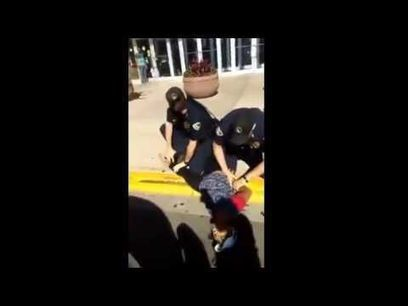 Video: Madison police arrest woman outside mall | Police Problems and Policy | Scoop.it