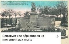 Retrouver une sépulture ou un monument aux morts | CGMA Généalogie | Scoop.it