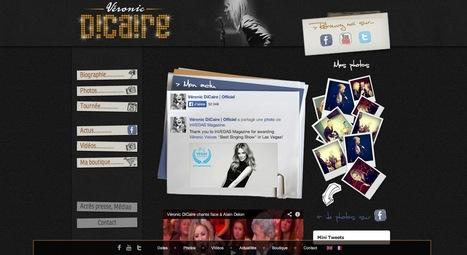 Site officiel de Véronic DiCaire | Beaux sites WordPress | Scoop.it