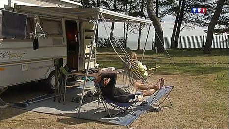 Le journal de 13h - Les campings ont toujours la cote | Actualité Campings | Scoop.it