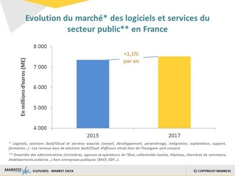 Secteur public : +1,1% de croissance pour le marché des logiciels & des services numériques | Marketing Mobile, omnicanal, cross canal, | Scoop.it