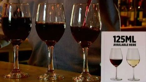 Wine drinkers urged to drop glass size | Market Failure | Scoop.it
