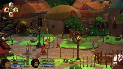 Jeux vidéo : que vaut « Aurion : l'héritage des Kori-Odan », le premier jeu de rôle en ligne 100% africain ? | Jeune Afrique | Kiosque du monde : Afrique | Scoop.it