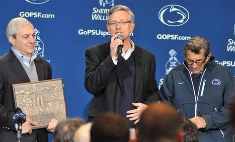 Paterno releases statement in response to chargest against Sandusky, Curley and Schultz - The Daily Collegian Online   Scandal at Penn State   Scoop.it