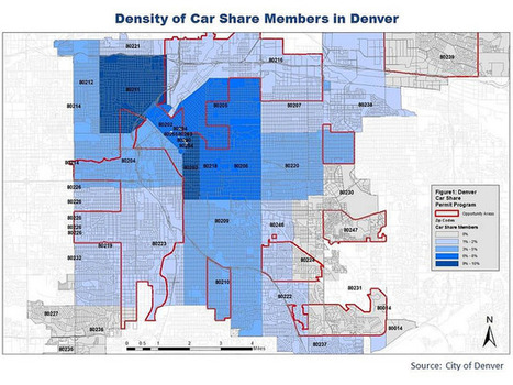 Young Coloradans fueling drop in driving, study finds | EGHS Geography | Scoop.it