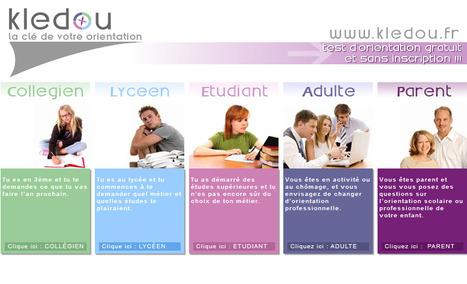 Kledou : test d'orientation professionnelle | TICE & FLE | Scoop.it
