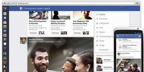 Facebook, presto nuovo look per il social network - Palermomania.it | SEO ADDICTED!!! | Scoop.it