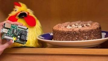 Raspberry Pi chicken shames cupboard raiders on Twitter as MOSI teams up ... - | Raspberry Pi | Scoop.it