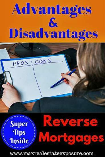 Reverse Mortgage PROs & CONs | Real Estate | Scoop.it