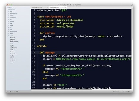 Sublime Text 2 for Ruby | Code it | Scoop.it