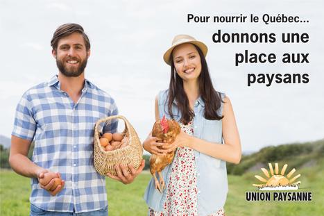 Pour nourrir le Québec, donnons une place aux paysans   Questions de développement ...   Scoop.it