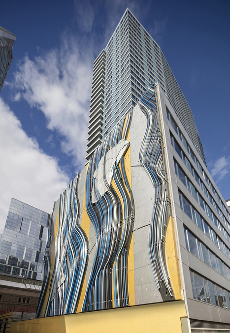 stephen glassman sculpts sinuous steel riverscape at BIG's via 57 west in new york | The Architecture of the City | Scoop.it