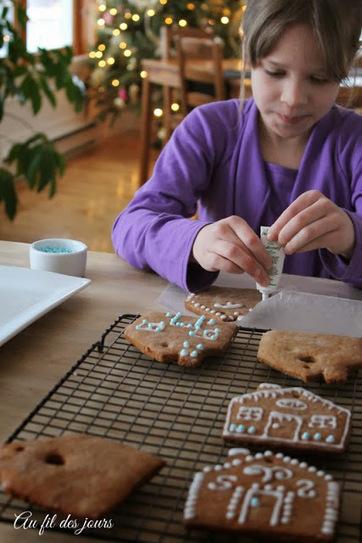 Au fil des jours: .: Petites maisons en pain d'épice :. | pâtisserie et boulangerie | Scoop.it