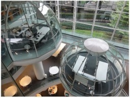 The future of libraries? In Japan, elevated study pods encourage conversation | School library design, teaching and learning areas, shelving | Scoop.it