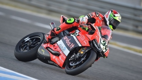 Chaz Davies does the double again at Jerez, Davide Giugliano finishes Race 2 in 13th position | Ductalk Ducati News | Scoop.it