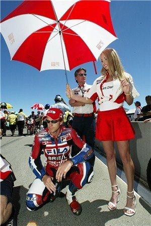Become a Ducati grid girl at Silverstone | visordown.com | Ductalk Ducati News | Scoop.it