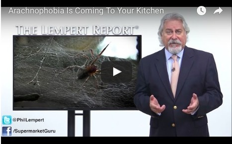 SupermarketGuru - Arachnophobia Is Coming To Your Kitchen | Entomophagy: Edible Insects and the Future of Food | Scoop.it