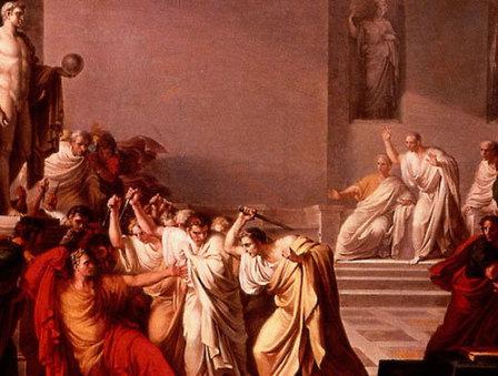 15 mars 44 avant JC - «Tu quoque, mi fili» | Racines de l'Art | Scoop.it