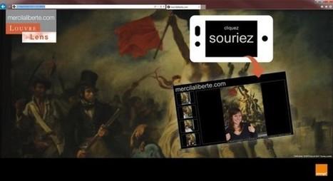IL Y A 2 ANS...Au Louvre-Lens, les visiteurs se prennent en photo pour dire adieu à la «Liberté guidant le peuple» | Clic France | Scoop.it