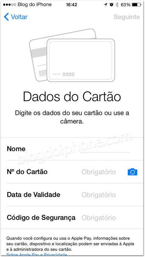 Como se esperava, Apple Pay não funciona com cartões brasileiros | Apple iOS News | Scoop.it