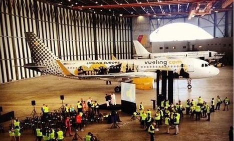 Primer avión de Vueling equipado con sharklets | Tecnología Avanzada | Scoop.it