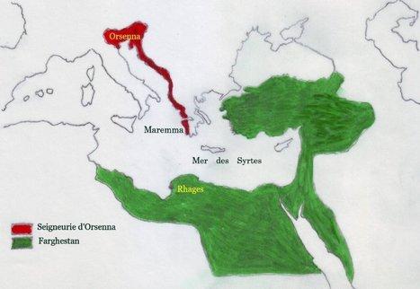 A la recherche du Rivage des Syrtes (Visions Cartographiques) | ClioTweets | Scoop.it