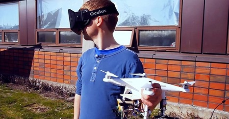 """Fly Virtually Using This Drone and Oculus Rift Combination [VIDEO] 