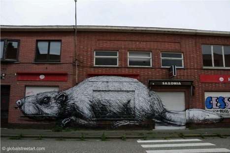 Global Street Art • I've started writing for the Global Street Art... | World of Street & Outdoor Arts | Scoop.it